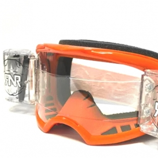 Rip n Roll Colossus WVS Roll Off Goggles - Orange Image 2