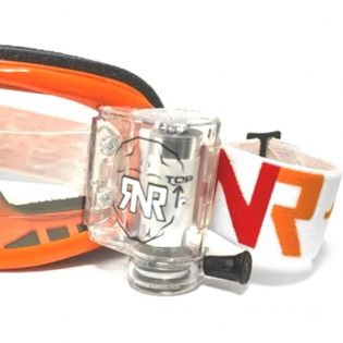 Rip n Roll Colossus WVS Roll Off Goggles - Orange Image 4