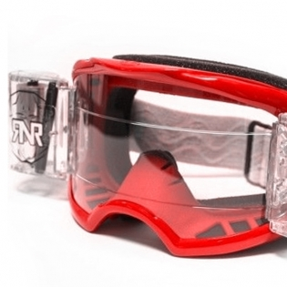 Rip n Roll Colossus WVS Roll Off Goggles - Red Image 2
