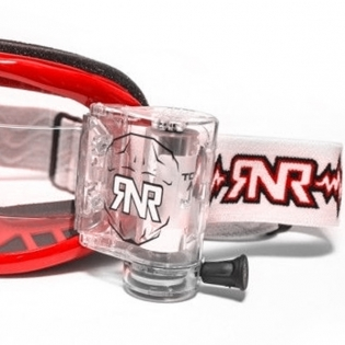 Rip n Roll Colossus WVS Roll Off Goggles - Red Image 4