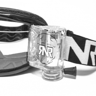 Rip n Roll Colossus WVS Roll Off Goggles - Black Image 4