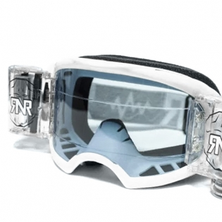 Rip n Roll Colossus WVS Roll Off Goggles - White Image 2