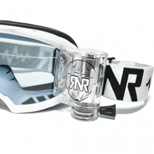 Rip n Roll Colossus WVS Roll Off Goggles - White Image 4