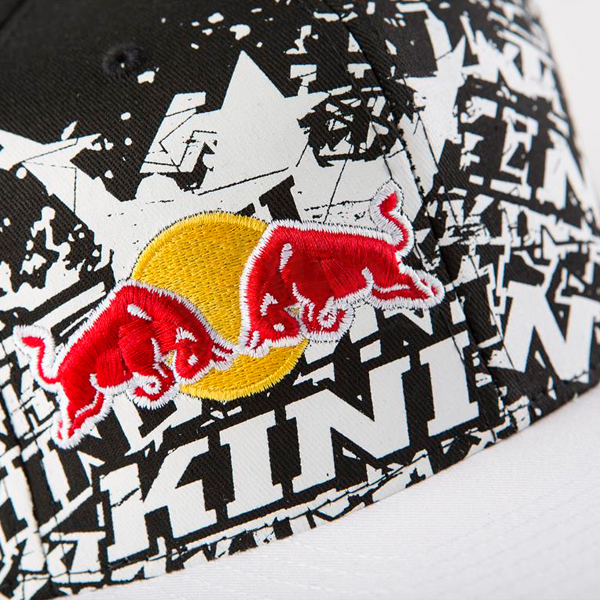 Kini Red Bull Repeat Flat Bill Cap - Black ... 14be0bd1ff