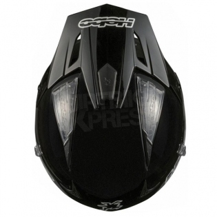 Hebo Zone 4 Fibre Trials Helmet - Mono Black Image 2