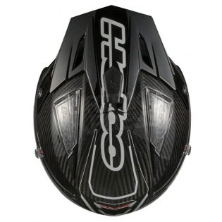 Hebo Zone 4 Fibre Trials Helmet - Carbon Image 2