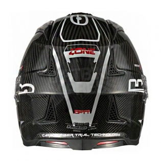 Hebo Zone 4 Fibre Trials Helmet - Carbon Image 4