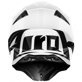 Airoh Twist Helmet Colour White Gloss Image 2