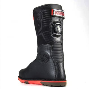 Hebo Tech Comp Black Trials Boots Image 2