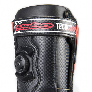 Hebo Tech Comp Black Trials Boots Image 3