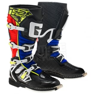 Gaerne G React Boots - Black Red Yellow Blue Image 3