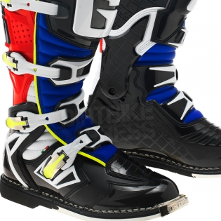 Gaerne G React Boots - Black Red Yellow Blue Image 4