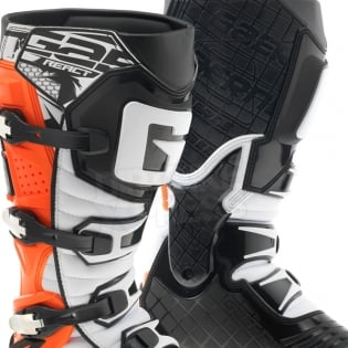 Gaerne G React Boots - Black Orange Fluo Image 2