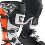 Gaerne G React Boots - Black Orange Fluo