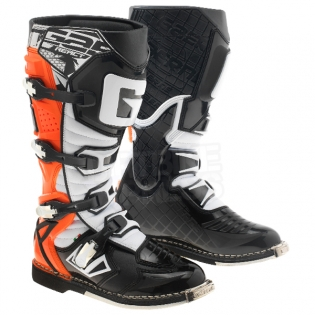 Gaerne G React Boots - Black Orange Fluo Image 3
