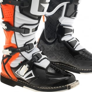 Gaerne G React Boots - Black Orange Fluo Image 4