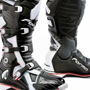Forma Dominator Comp 2.0 Motocross Boots - Black Image 2