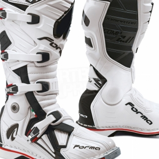 Forma Dominator Comp 2.0 Motocross Boots - White Image 2