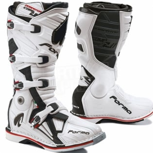 Forma Dominator Comp 2.0 Motocross Boots - White Image 4
