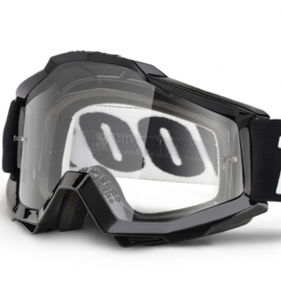 100% Accuri Goggles - Tornado Gloss Clear Lens Image 2