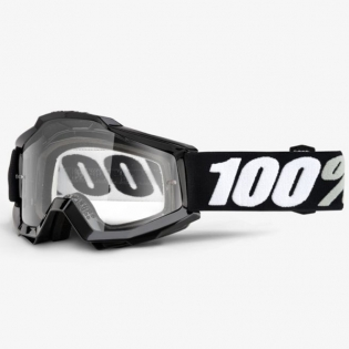 100% Accuri Goggles - Tornado Gloss Clear Lens Image 3