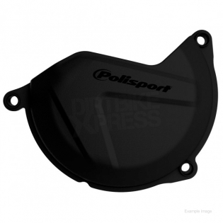 Polisport Yamaha Clutch Cover Protector - Black Image 2