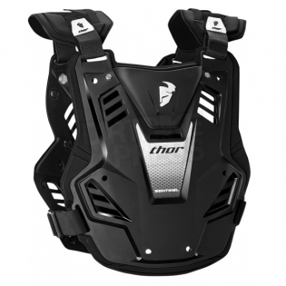 Thor Kids Sentinel GP Body Armour - Black Image 2