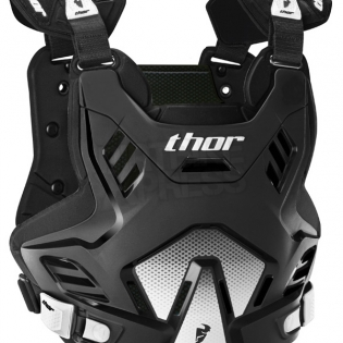 Thor Kids Sentinel GP Body Armour - Black Image 3