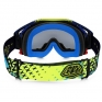 Oakley Airbrake MX Goggles - Troy Lee Designs Star Yellow Blue 24K