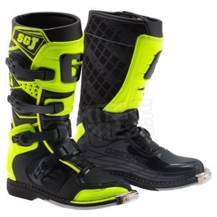 Gaerne SGJ Kids Boots - Black Fluo Yellow Image 3