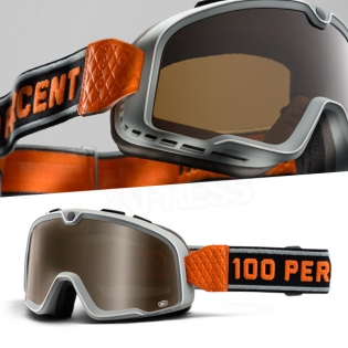100% Barstow Classic Goggles - Bowery Bronze Lens Image 3