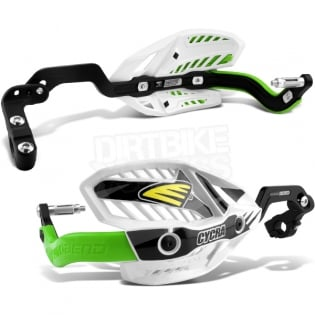 Cycra Ultra ProBend CRM Handguards - Green Image 2