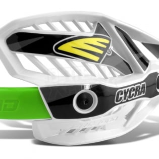 Cycra Ultra ProBend CRM Handguards - Green Image 4