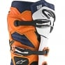 Alpinestars Tech 7 Boots - Black Orange White Blue