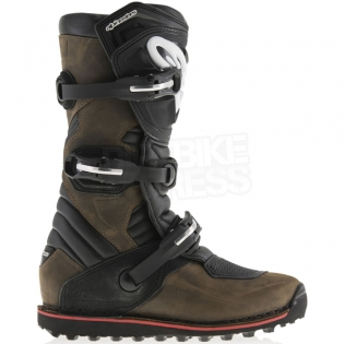 Alpinestars Tech-T Trials Boots - Brown Oiled Image 2