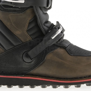 Alpinestars Tech-T Trials Boots - Brown Oiled Image 3