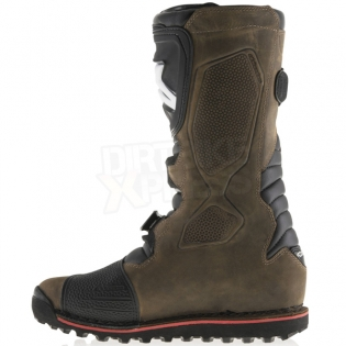 Alpinestars Tech-T Trials Boots - Brown Oiled Image 4