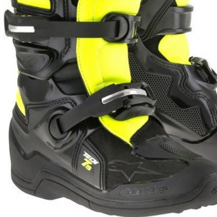 Alpinestars Kids Boots Tech 7S - Black Flo Yellow Image 4