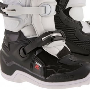 Alpinestars Kids Boots Tech 7S - Black White Image 4