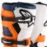 Alpinestars Kids Boots Tech 7S - Black Orange White Blue