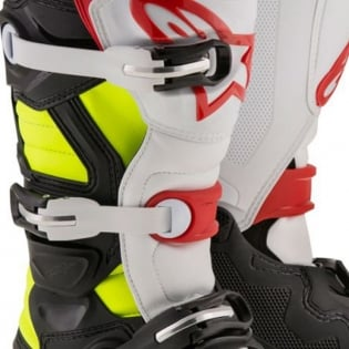 Alpinestars Kids Boots Tech 7S - Black Red Flo Yellow Image 3