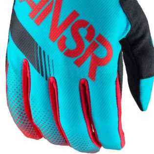 2017 Answer Syncron Kids Gloves - Red Teal Image 2