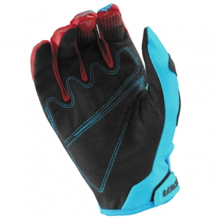 2017 Answer Syncron Kids Gloves - Red Teal Image 3