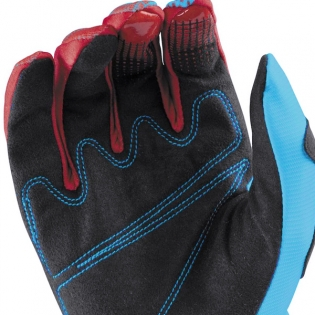 2017 Answer Syncron Kids Gloves - Red Teal Image 4