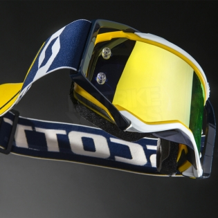 2017 Scott Prospect Goggles - Blue White Yellow Chrome Image 2