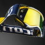 2017 Scott Prospect Goggles - Blue White Yellow Chrome