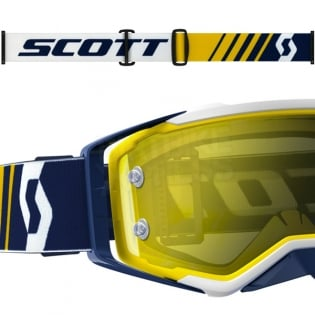 2017 Scott Prospect Goggles - Blue White Yellow Chrome Image 3