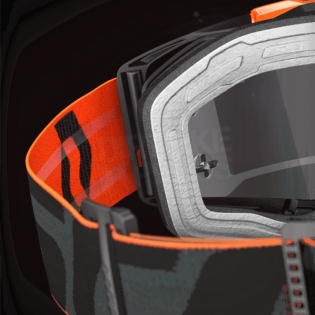 2017 Scott Prospect Goggles - Black Flo Red Orange Chrome Image 2