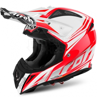 2017 Airoh Aviator 2.2 Helmet Ready Red Image 2