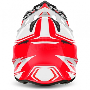 2017 Airoh Aviator 2.2 Helmet Ready Red Image 3